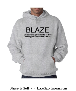 Heavyweight Hooded Sweatshirt Design Zoom